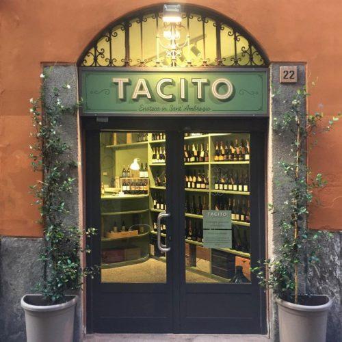 foto ingresso tacito vini enoteca in sant'ambrogio